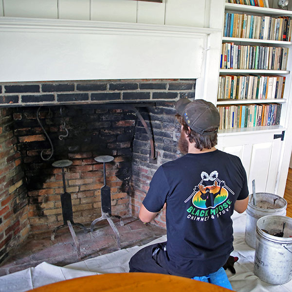 wood burning fireplace repair & cleaning in Sunapee NH