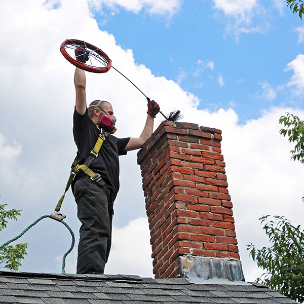 chimney sweep service & chimney cleaning in Concord NH
