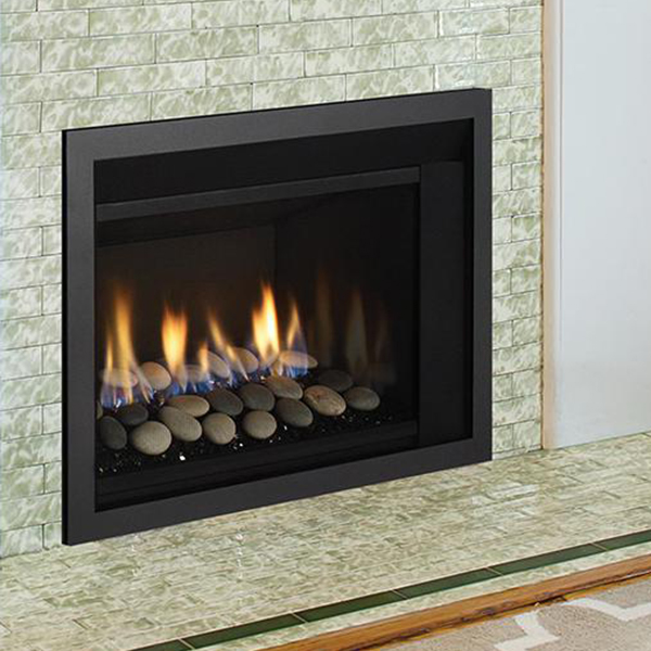 Beautiful Gas Fireplace Insert Installation In Concord, NH